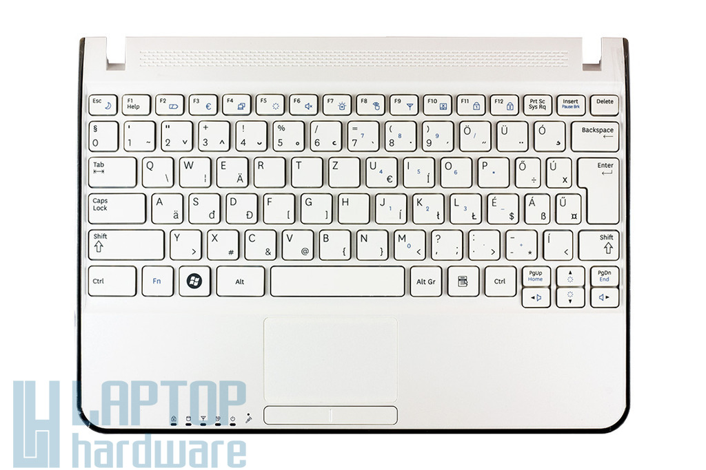 Samsung N210, N220 fehér laptop billentyűzet, BA75-02431Q
