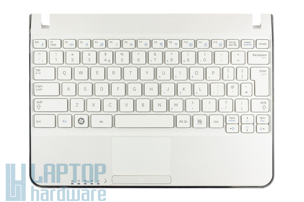 Samsung N210, N220 fehér UK angol billentyűzet, BA75-02431A