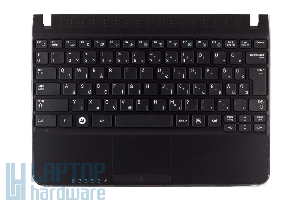 Samsung N210, N220 fekete magyar laptop billentyűzet, BA75-02444Q