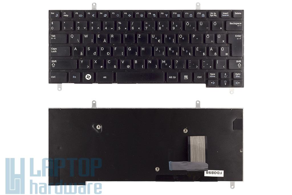Samsung N210, N220 laptophoz használt fekete magyar billentyűzet