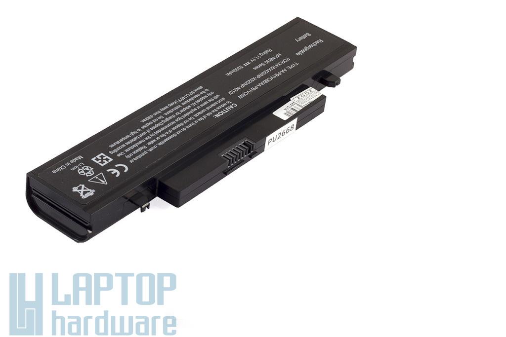 Samsung N210, N220, Q330 helyettesítő új 6 cellás laptop akku/akkumulátor  AA-PB1VC6B