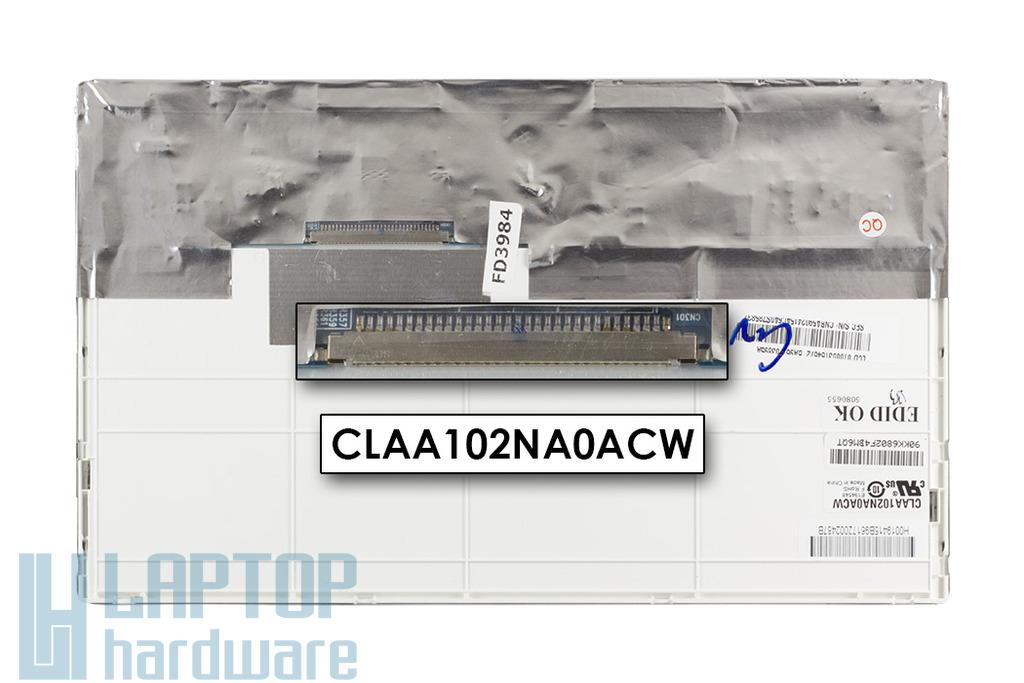 Samsung NC10 használt netbook kijelző, CLAA102NA0ACW