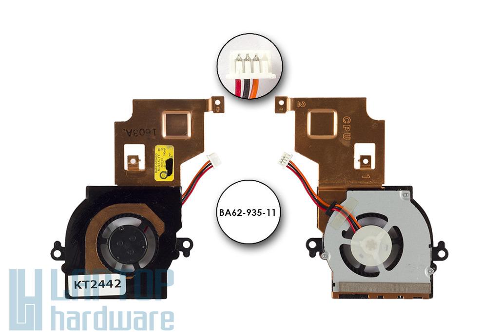 Samsung NP-NF210 gyári új komplett laptop hűtő ventilátor egység (BA62-935-11)