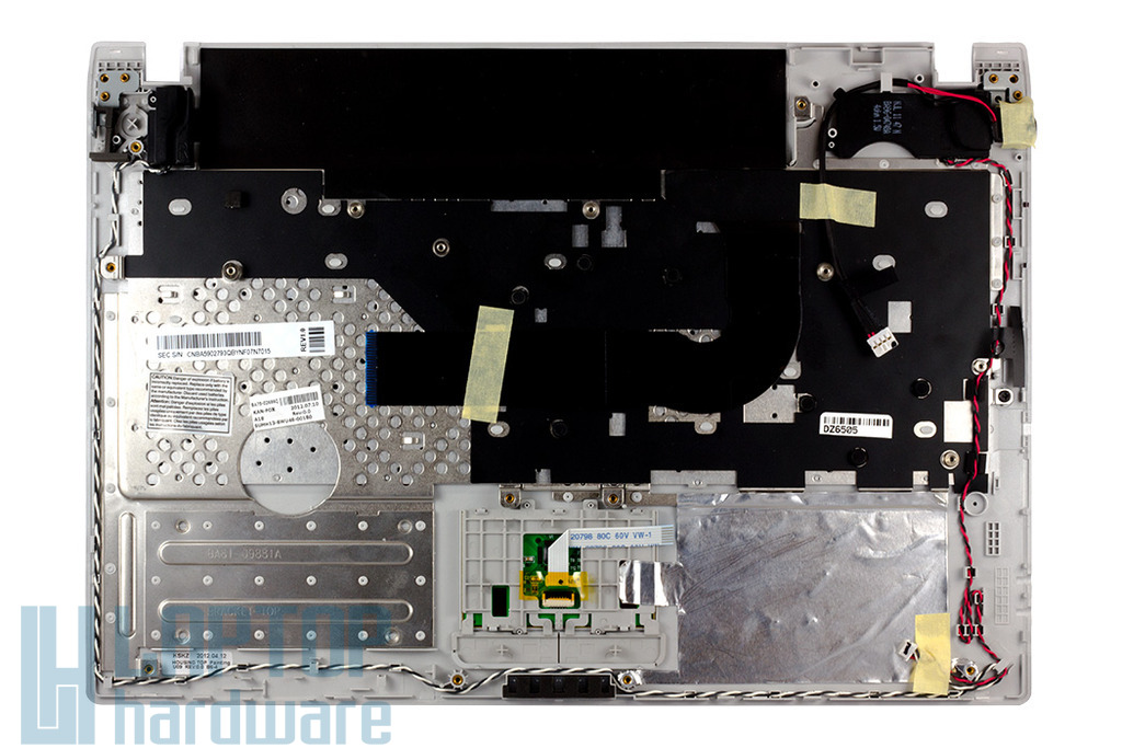 Samsung NP-Q330, NP-Q430 gyári új magyar laptop billentyűzet modul, BA75-02686Q