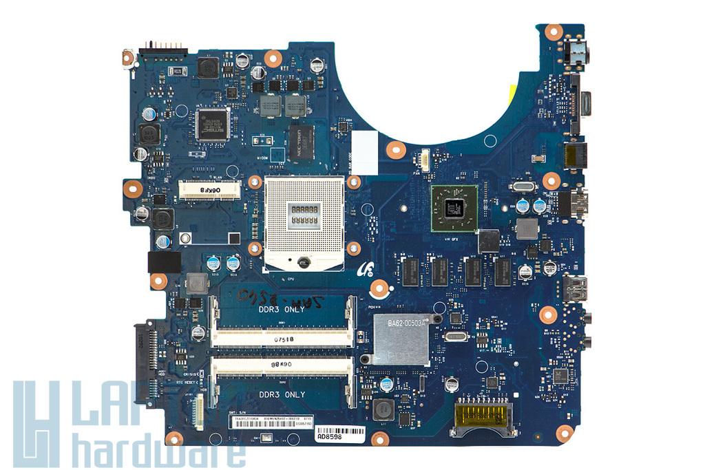 Samsung NP-R540, NP-E452 használt laptop alaplap (Intel rPGA-989, ATI HD4570) (BA41-01353A, BA92-06621A)