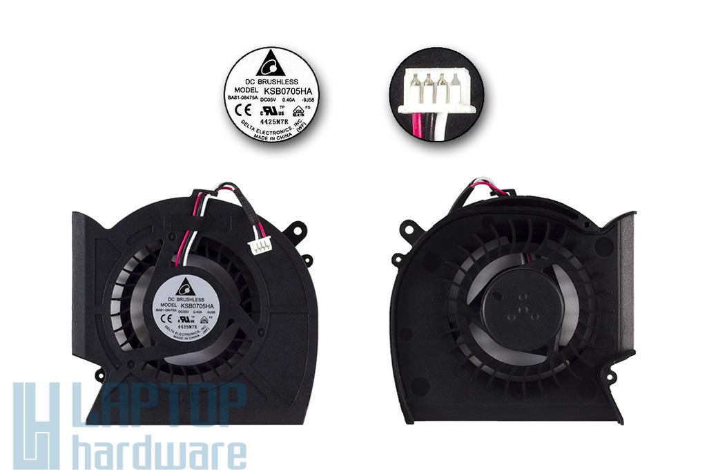 Samsung NP-R580, NP-R590 gyári új laptop hűtő ventilátor (KSB0705HA-9J58)