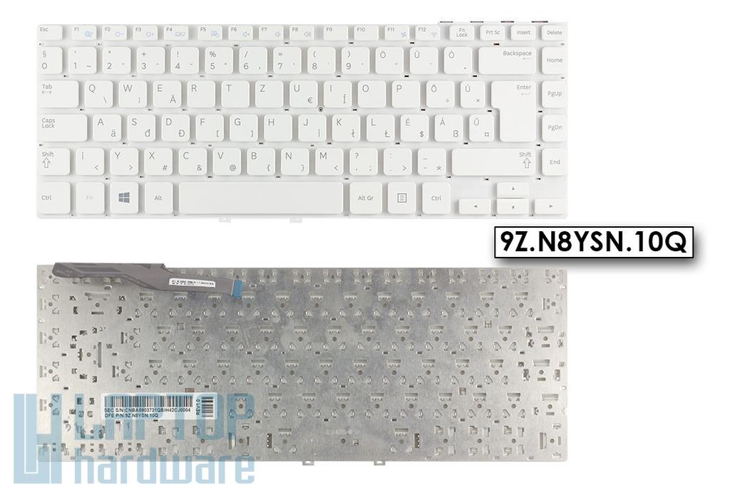 Samsung NP270E4E, NP275E4E gyári új magyar fehér laptop billentyűzet (9Z.N8YSN.10Q)