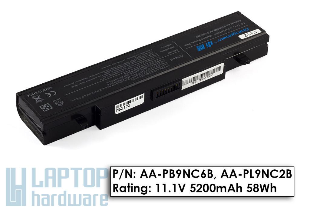 Samsung NP300, R580, RV511 használt 80%-os 6 cellás helyettesítő akku/akkumulátor (AA-PB9NC6B)