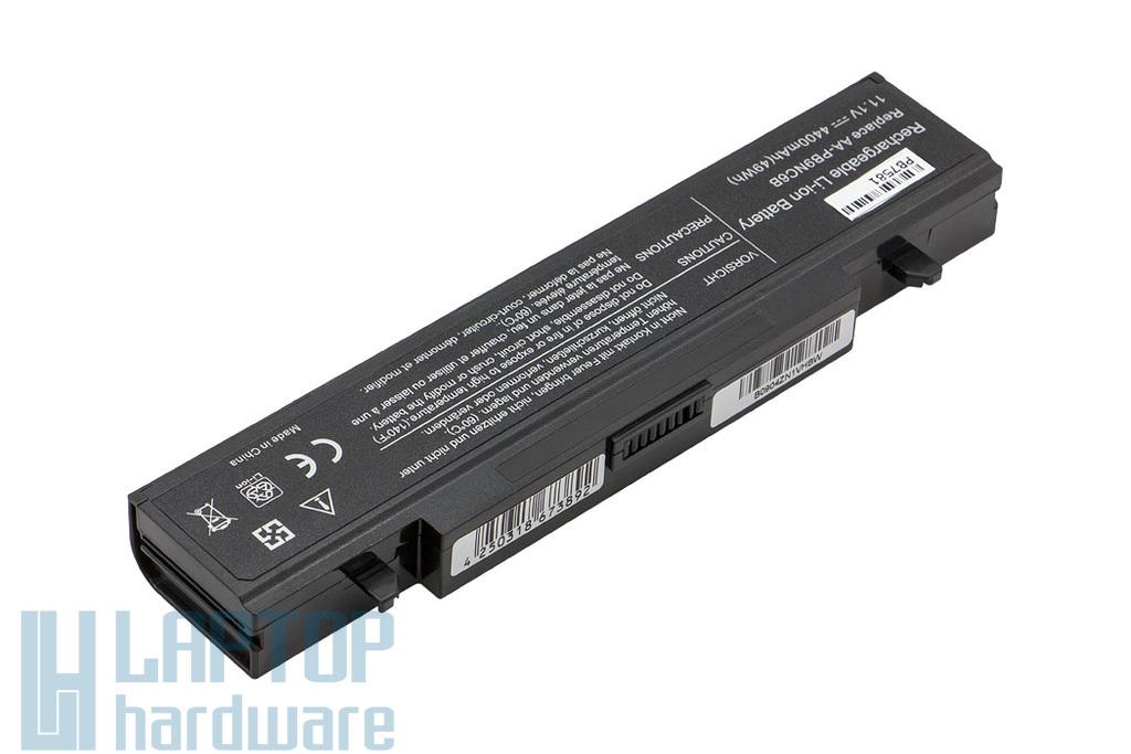 Samsung NP300, R580, RV511 helyettesítő új 6 cellás laptop akku/akkumulátor (AA-PB2NC3B)