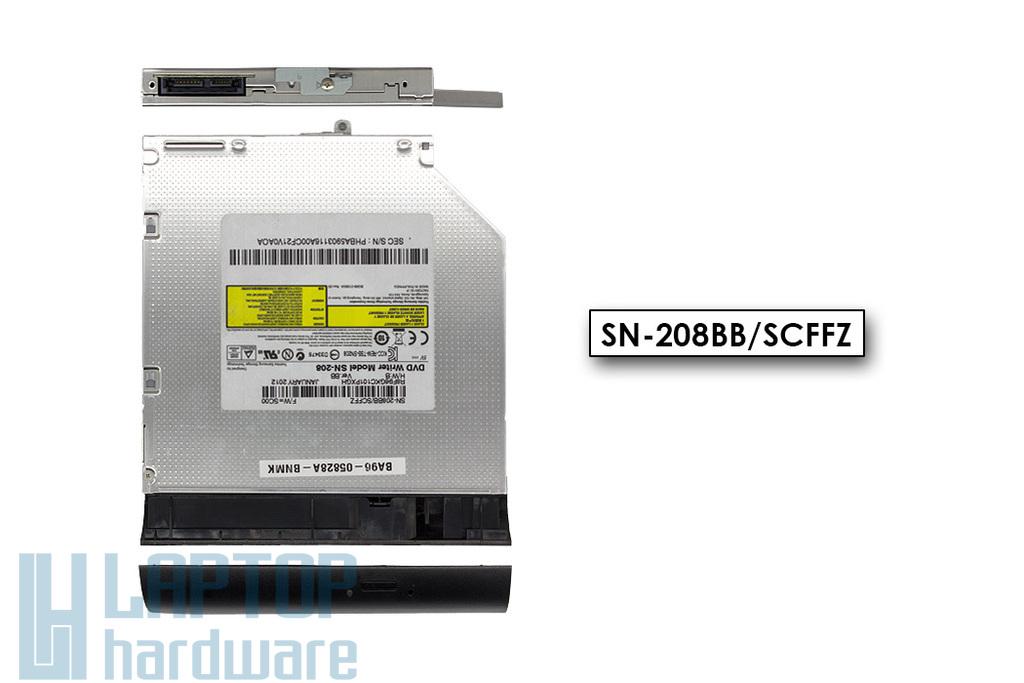Samsung NP300E5A, NP300E5C, NP305E5A használt laptop DVD író előlappal (SN-208, BA96-05828A)