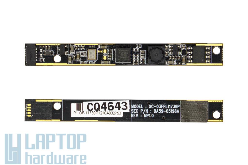Samsung NP300E5A, NP305E5A használt laptop webkamera (BA59-03198A)
