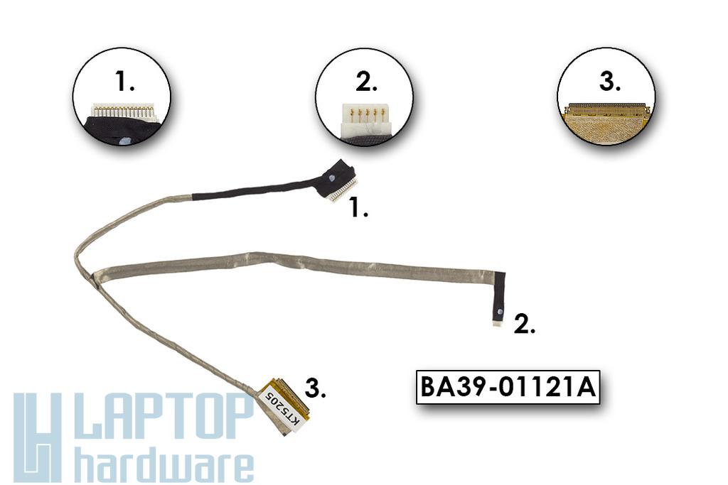 Samsung NP300V5A gyári új laptop LCD kijelző kábel, BA39-01121A