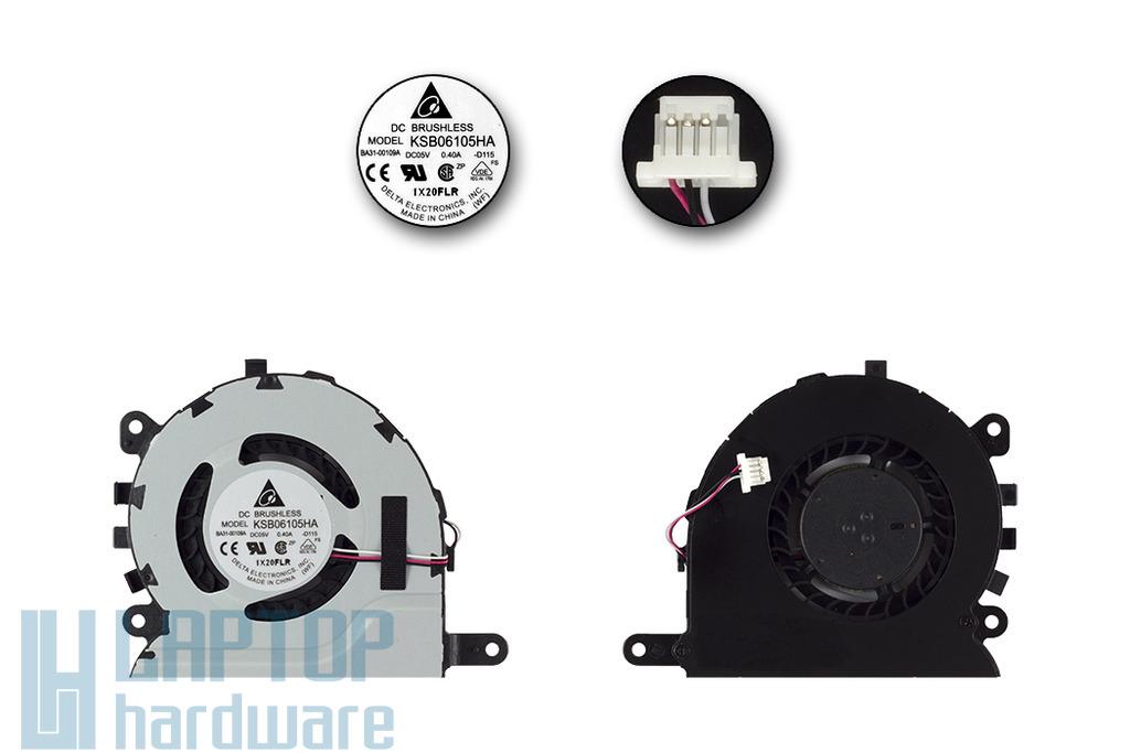 Samsung NP350U2A, NP350U2B gyári új laptop hűtő ventilátor, KSB06105HA-D115