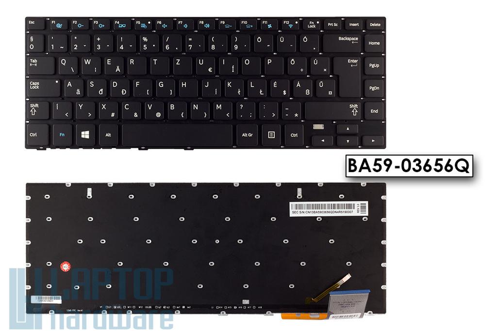 Samsung NP370R4E, NP470R4E gyári új magyar háttér-világításos laptop billentyűzet (BA59-03656Q)