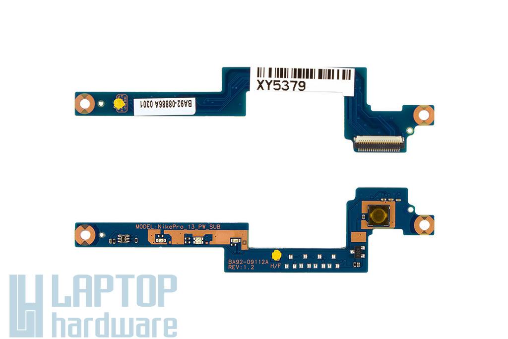 Samsung NP700Z3A gyári új bekapcsoló gomb panel (BA92-08886A)