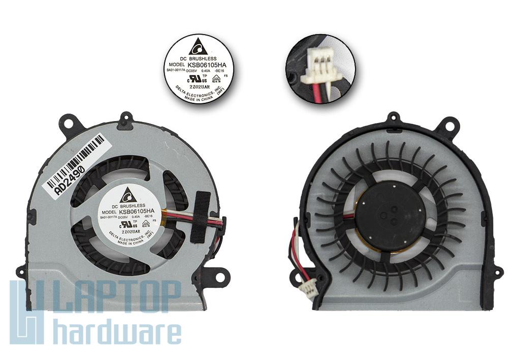Samsung NP700Z5A, NP700Z5B, NP700Z5C gyári új laptop hűtő ventilátor (KSB06105HA-BE16, BA31-00117A)