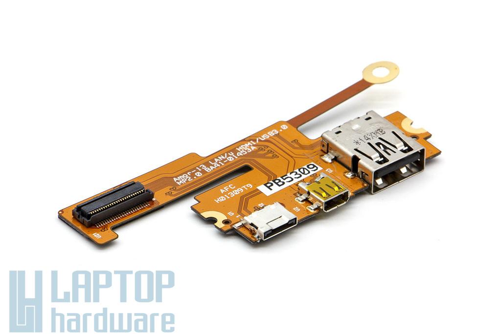 Samsung NP900X3A laptophoz gyári új USB/HDMI/LAN panel (BA41-01453A)