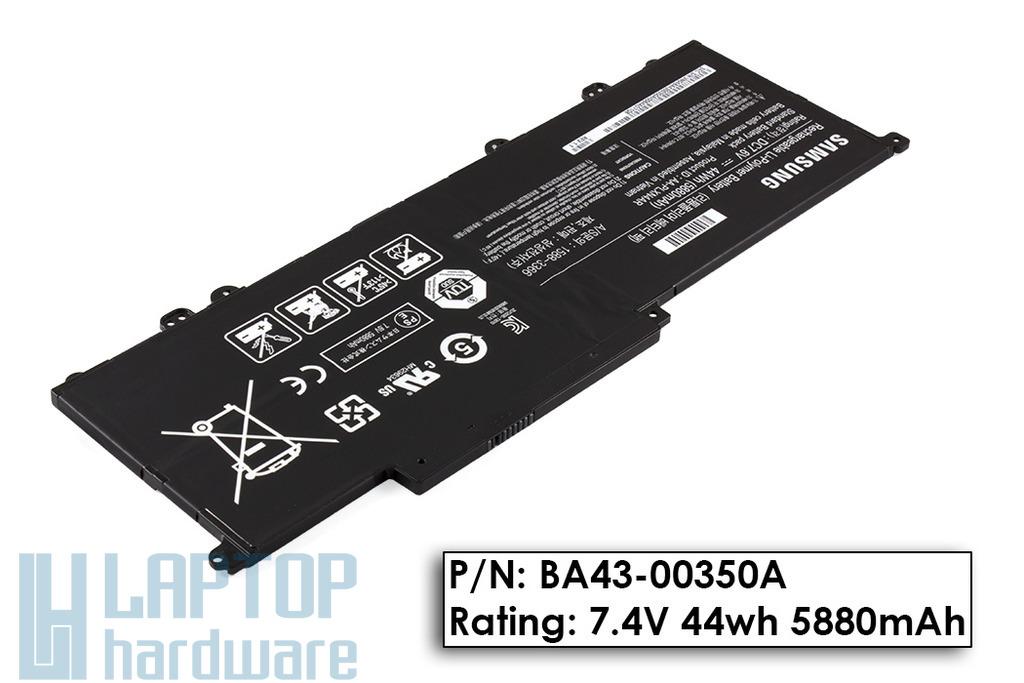 Samsung NP900X3C, NP900X3D, NP900X3E gyári új laptop akku/akkumulátor  BA43-00350A