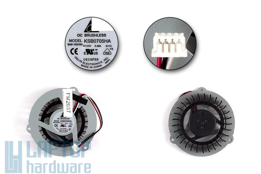 Samsung R463, R467, R470 gyári új laptop hűtő ventilátor, KSB0705HA, BA81-03505A