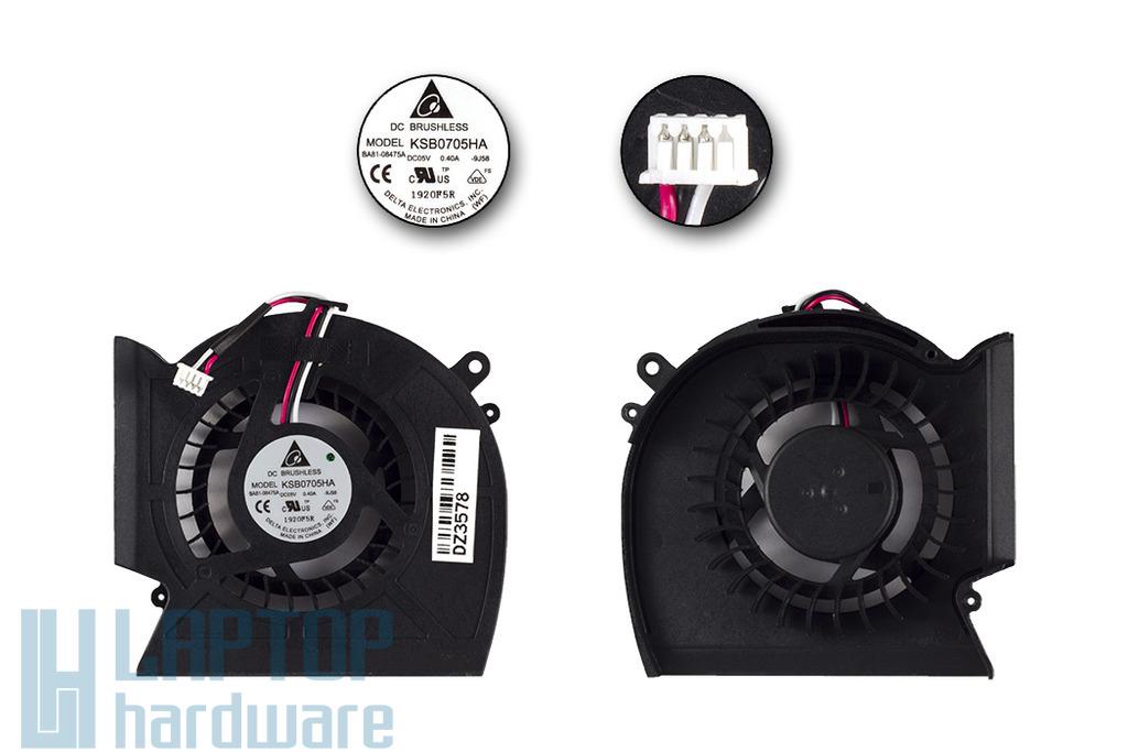 Samsung  R525, R528, R530, R540 laptophoz gyári új ventilátor, BA81-08475A