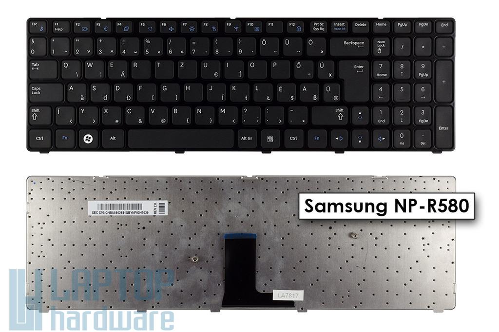 Samsung R580, NP-R580 gyári új magyar laptop billentyűzet, BA59-02681Q