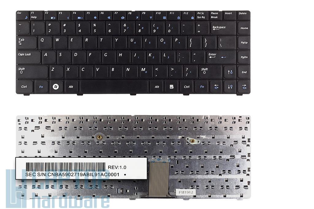 Samsung RV408, RV410, NP-RV408, NP-RV410 US angol laptop billentyűzet