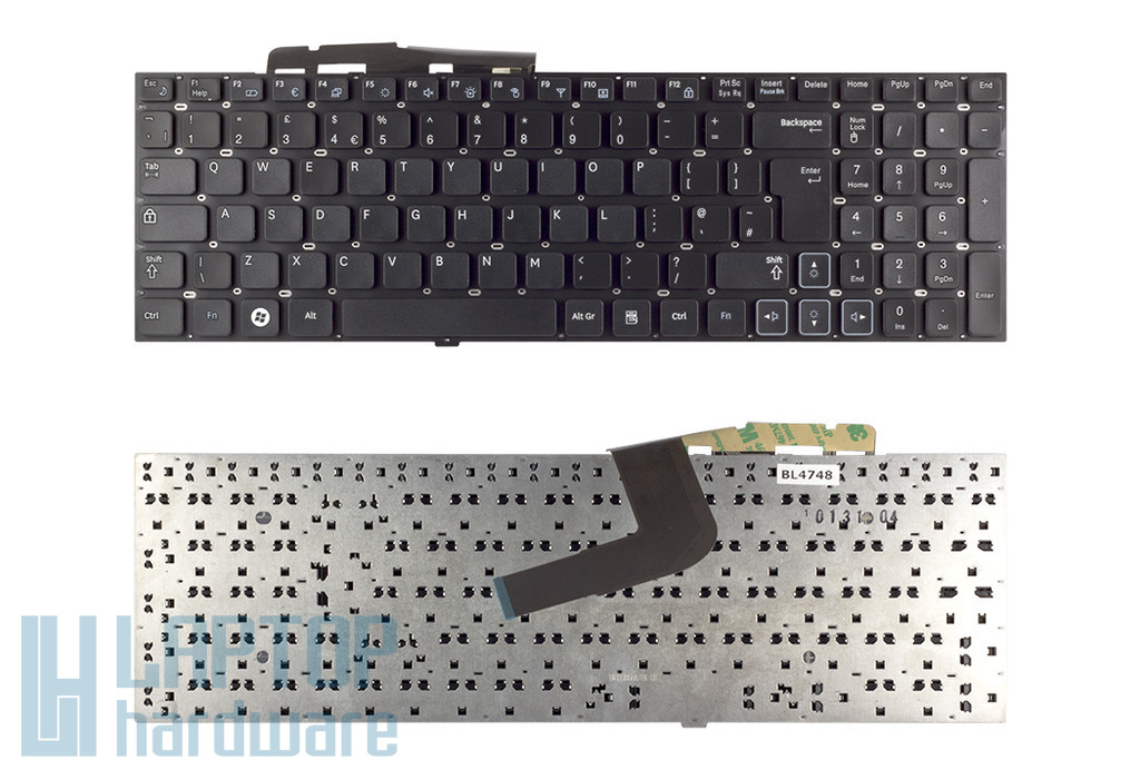 Samsung RV509, RV511, RV520 gyári új UK angol laptop billentyűzet