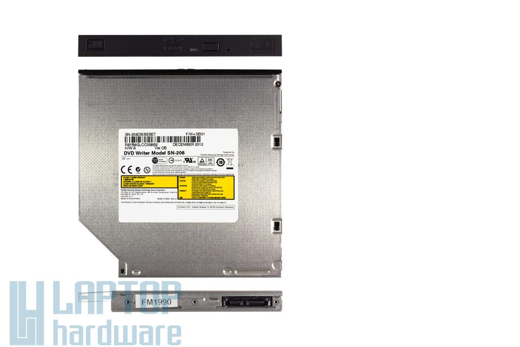 Samsung SATA laptop DVD-író, SN-208, SN-208DB-BEBET