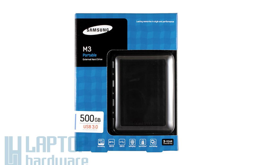 Samsung - Seagate M3 500GB külső (USB 3.0, USB 2.0) winchester (HX-M500TCB/G)