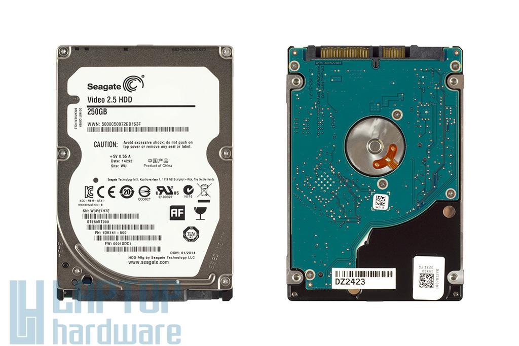 250GB 5400RPM 2,5'' SATA (3Gbit/s) gyári új laptop winchester, HDD
