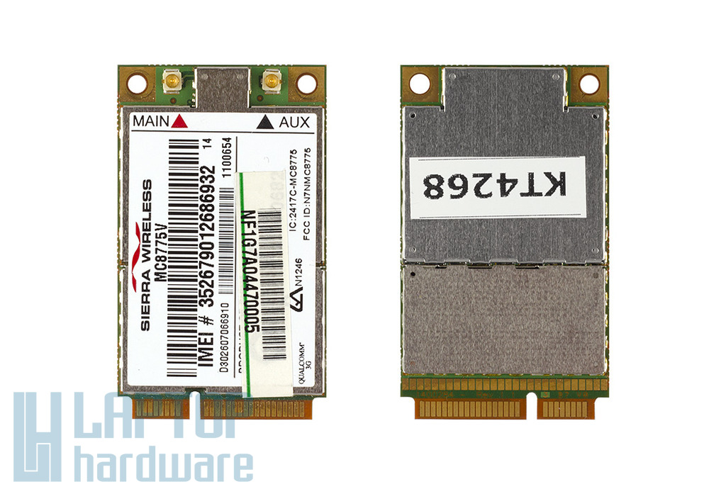 Sierra Wireless 3G/HSDPA Mini PCi-e modem laptophoz, MC8775V