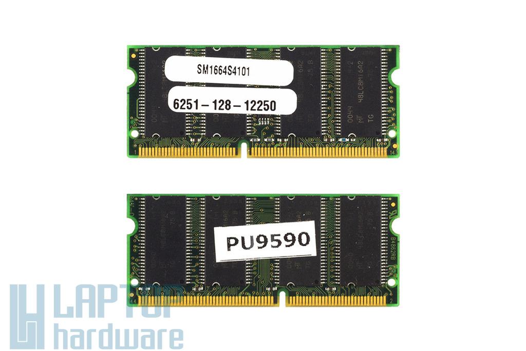 SMART  128MB SDRAM 100MHz használt laptop memória