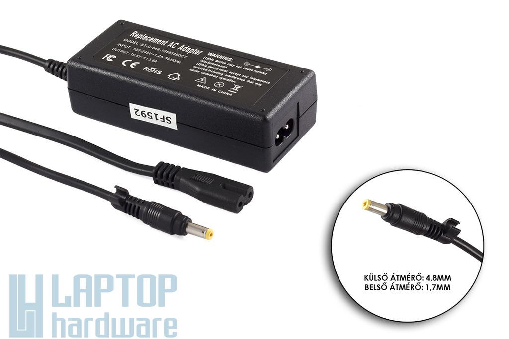 Sony 10.5V 3.8A 40W helyettesítő új netbook töltő (VGP-AC10V5, VGP-AC10V2)