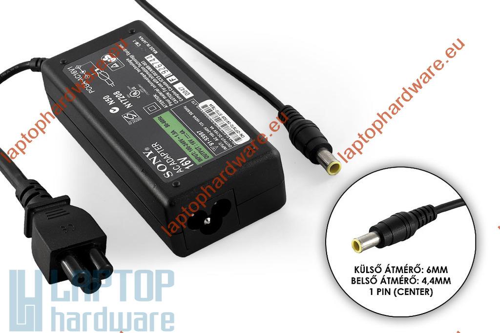 Sony Vaio, Fujitsu-Siemens LifeBook 16V 4A használt laptop töltő (VGP-AC16V8, PCGA-AC16V7)