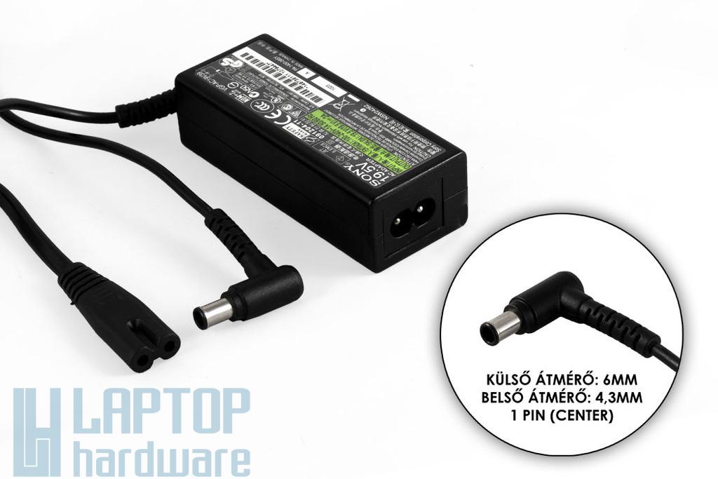 Sony 19.5V 2A 40W gyári új netbook töltő (VGP-AC19V39, PA-1400-08SZ)