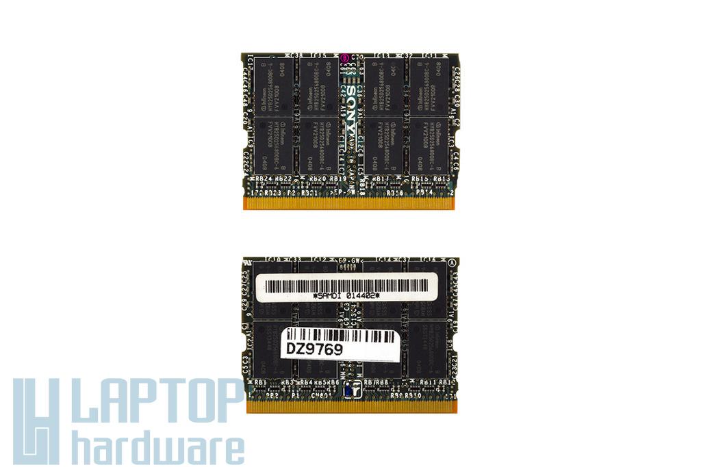 Sony 512MB 333MHz microDIMM DDR használt laptop memória (5AMDI)