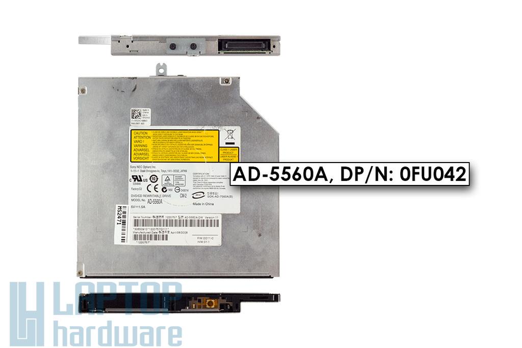 Sony AD-5560A használt PATA (IDE) DVD író Dell Inspiron 1525 laptophoz (0FU042)