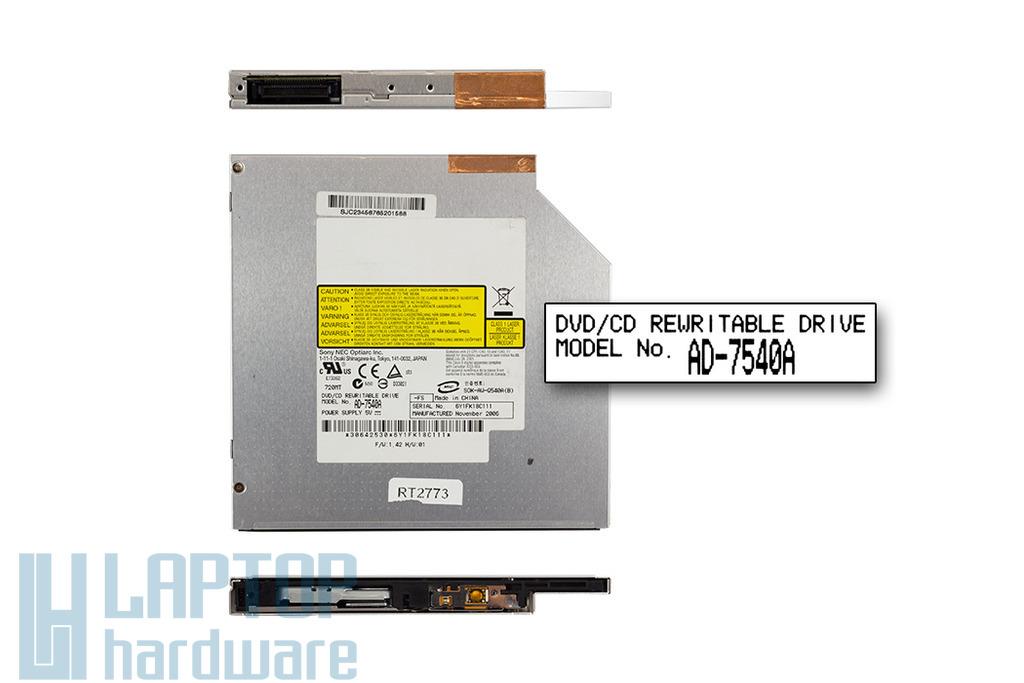 Sony Nec használt IDE laptop DVD-író (AD-7540A)