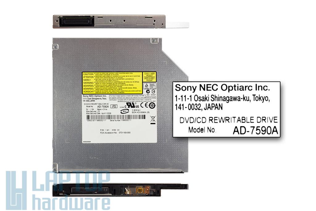 Sony Nec Optiarc DVD író (AD-7590A)
