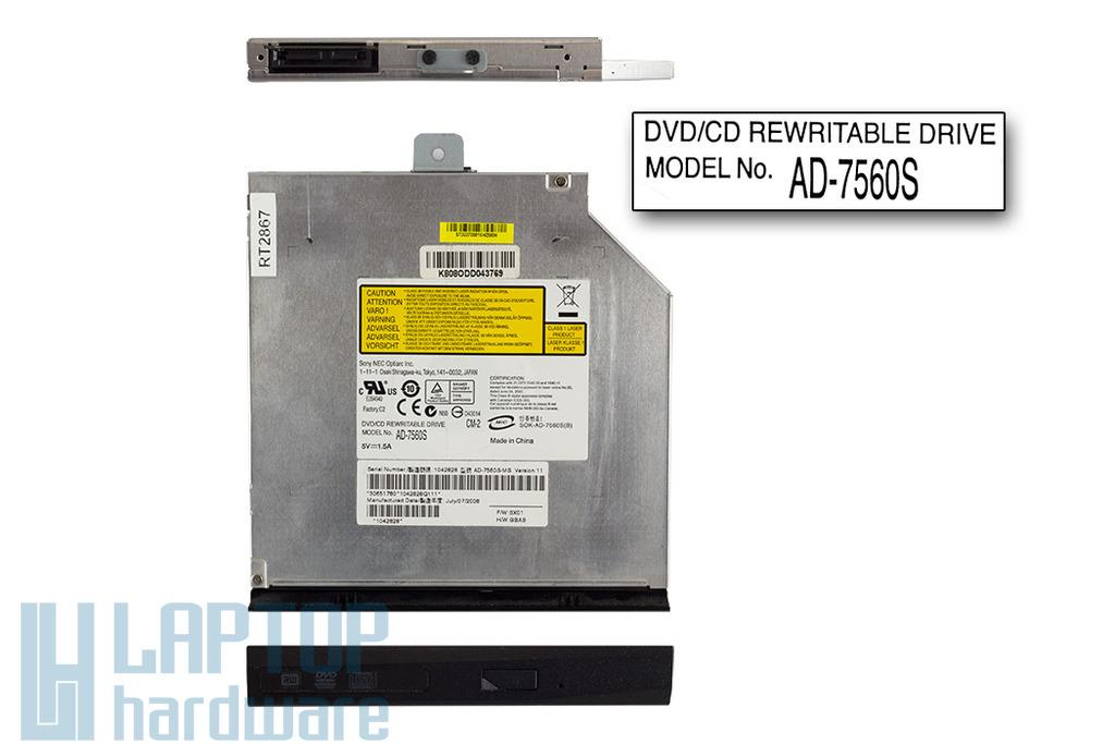 Sony NEC Optiarc SATA használt laptop DVD-író (AD-7560S)