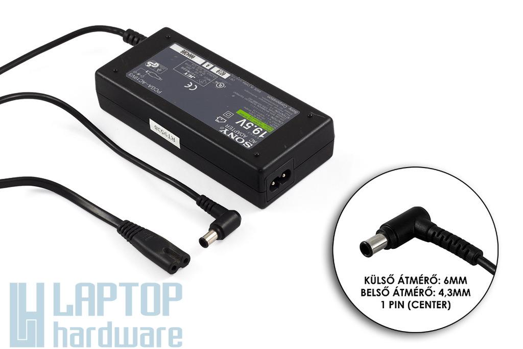 Sony PCGA-AC19V3 19,5V 4,1A használt laptop töltő