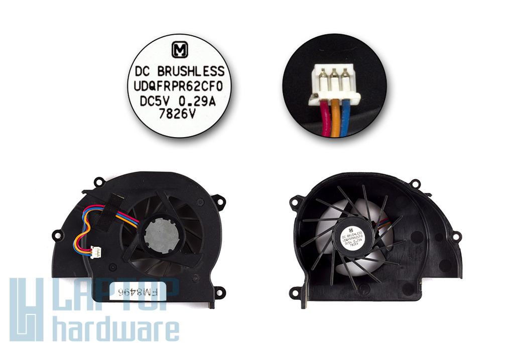 SONY Vaio PCG-391M használt laptop hűtő ventilátor (UDQFRPR62CF0 )