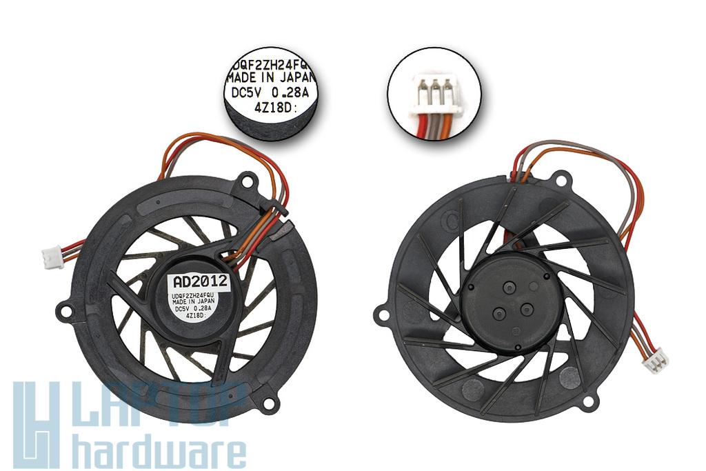 Sony Vaio PCG-9S1L, PCG-9S1M, PCG-9S2M használt laptop hűtő ventilátor (UDQF2ZH24FQU)