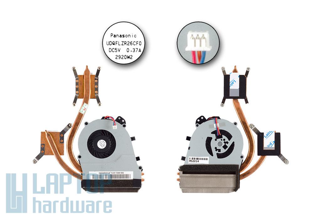 Sony Vaio SVE-14 gyári új laptop hűtő modul (UDQFLZR26CF0)