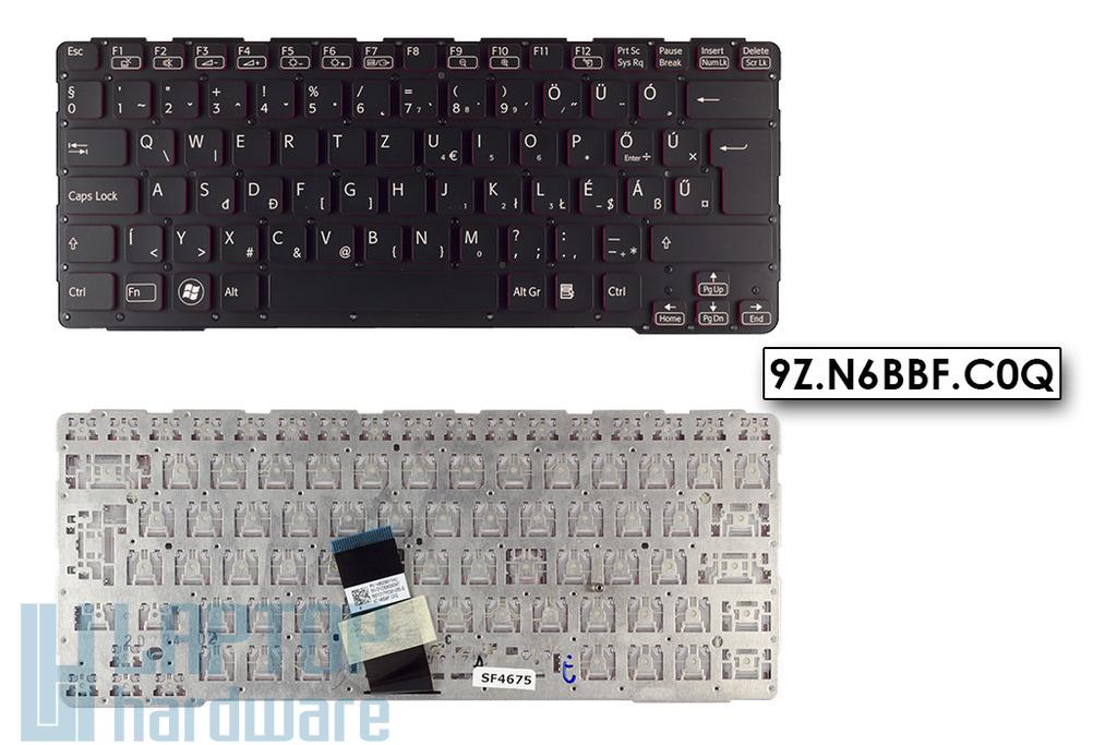 Sony Vaio SVE14A gyári új fekete magyar laptop billentyűzet (9Z.N6BBF.C0Q)