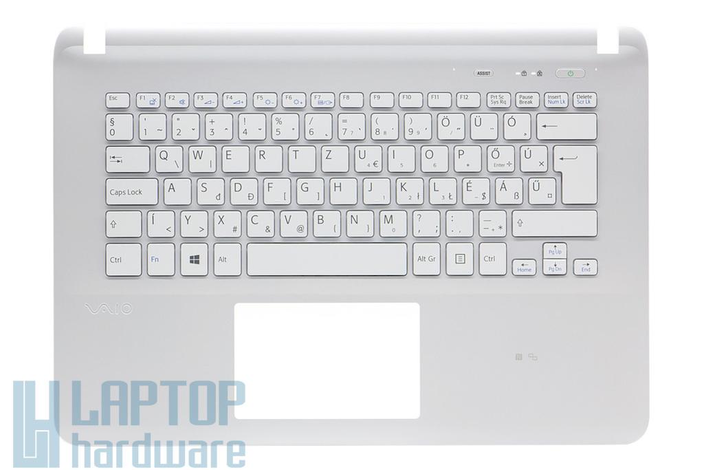 Sony Vaio SVF14E, SVF142 sorozatú laptophoz gyári új magyar fehér billentyűzet modul