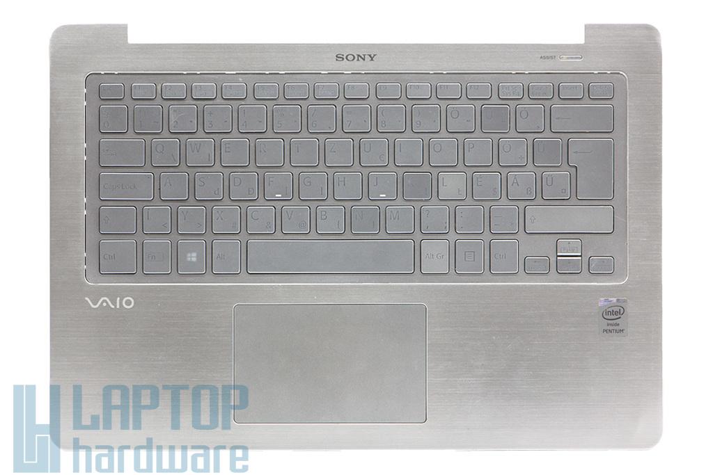 Sony Vaio SVF14N sorozatú laptophoz B kategóriás használt háttér-világításos billentyűzet modul touchpaddal és hangszóróval (3GFI2TAN010)