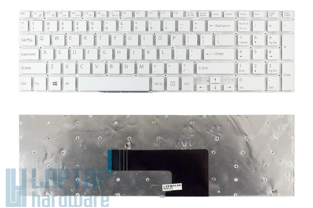 Sony Vaio SVF15, SVF15A, SVF15E sorozatú laptopokhoz gyári új US angol fehér billentyűzet