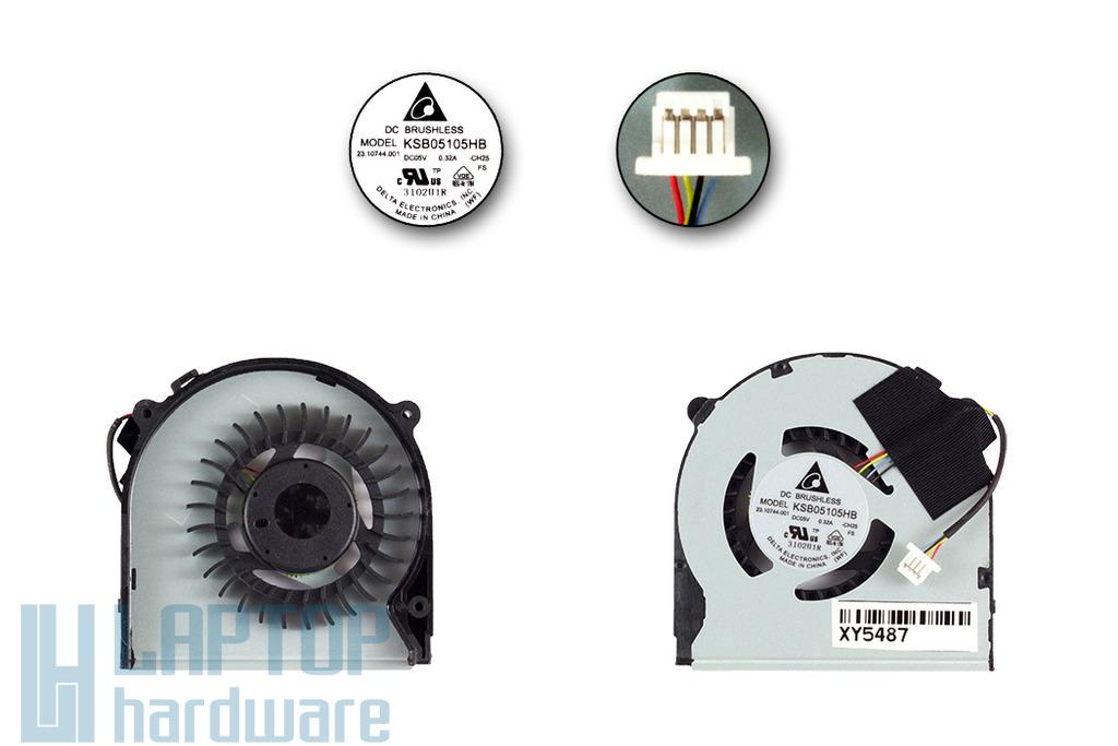 Sony Vaio SVT13 gyári új laptop hűtő ventilátor (KSB05105HB CH25)