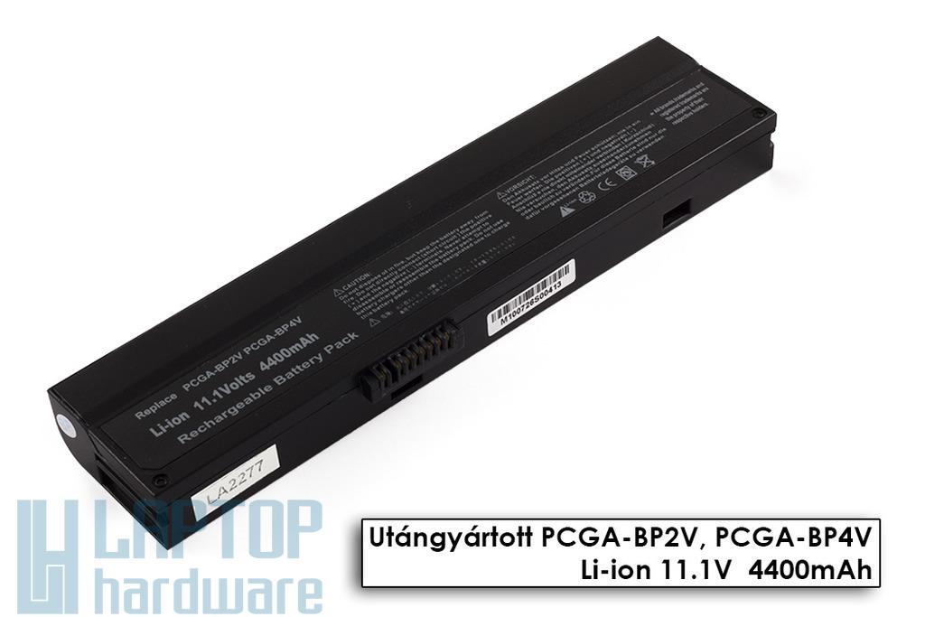 Sony Vaio VGN-B, PCG-V505, PCG-Z1 helyettesítő új 6 cellás fekete laptop akku/akkumulátor (PCGA-BP2V)